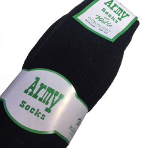 Army Socks mit Wolle